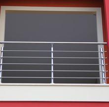 Ringhiera per una finestra esterna