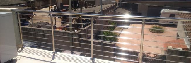 Scegliere parapetti e balaustre per il terrazzo